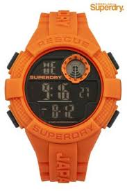 buy men s accessories superdry watches orange from the next uk superdry digital watch