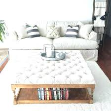 ottoman coffee table with shelf tufted coffee table tufted coffee table ottoman coffee table exciting white and brown square farmhouse wood tufted ottoman