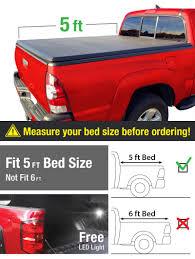 Amazon.com: Premium Tri-Fold Truck Bed Tonneau Cover 2015-2018 ...