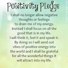 Positivity Quotes Inspiration Positivitypledgemotivationalquotessayingspictures Jittery