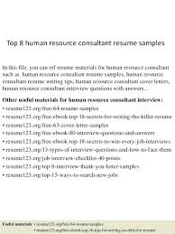 Consultant Resume Sample Operations Manager Top 8 Supply Chain