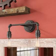 antique bathroom lighting. Kash 2-Light Amber Antique Vanity Light Bathroom Lighting R