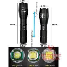 Đèn pin led siêu sáng xml t6 police bin mini cầm tay chống nước chiếu xa sạc  điện chính hãng - Đèn pin Hãng No brand