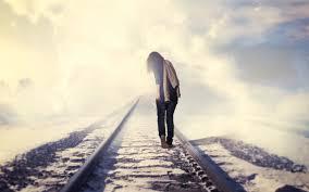 sad walk lonely hd wallpaper