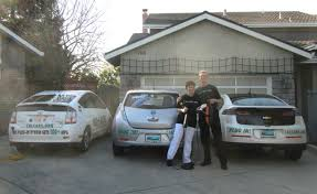Lucky Family First to Get a Chevy Volt and a Nissan LEAF ...