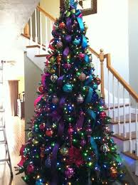 ... Beautiful Decoration Colorful Christmas Tree Best 25 Ideas On Pinterest  ...
