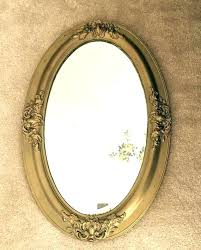 Oval Mirror Frames Oval Mirror Frame Antique Wall Oval Beveled