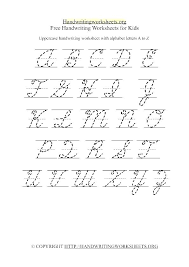 Free Handwriting Worksheets For Preschool And Kindergarten Printable