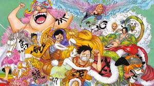 One Piece Characters 4K Wallpaper #6.124