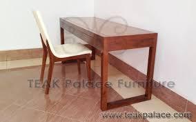 meja kantor minimalis kursi modern murah kayu jati