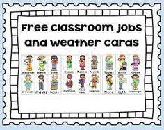 Free Preschool Classroom Job Chart Pictures Printable Classroom Job Chart Pictures Www