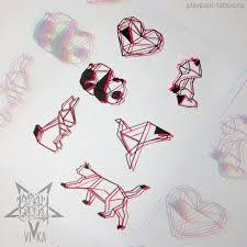 флеш сет эскизов для маленьких татуировок на любую часть тела эскиз
