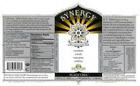 nutrition g t s kombucha black chia label from bottle photo by david dekevich