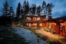 view modern house lights. Contemporary Lights Panoramic Chalet In Whistler Canada With Beautiful Lighting And View Modern House Lights