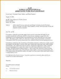 sample cover letter for business plan entry level cover letter example of business cover letter