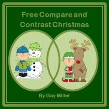 compare and contrast christmas by gay miller tpt
