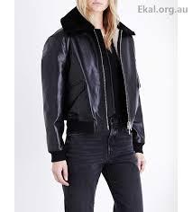 women s coats jackets allsaints limited black jackets kinney leather er jacket 40jl156