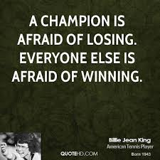 Quotes About Winning And Losing Fascinating Billie Jean King Quotes QuoteHD