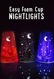 Dixie Cup Lights Kid Craft Easy Diy Nightlights From A Foam Cup