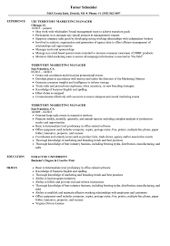 Territory Marketing Manager Resume Samples Velvet Jobs