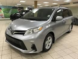 New 2018 Toyota Sienna 4 Door Mini-Van Passenger in Calgary, AB 180549