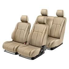 leather 1st 2nd row tan seat coversleathercraft