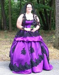 plus size purple gothic wedding dress wedding dresses designs