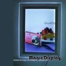 Digital Light Box Hot Item Digital Camera Led Crystal Photo Frame Light Box