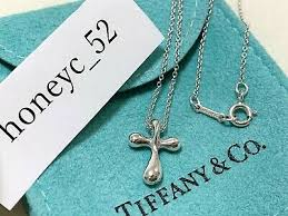 tiffany co elsa peretti cross