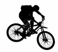 vector - jump with a mountain bike - silhouette #mountainbikeshops   Bike  silhouette, Mountain biking, Mtb bike mountain