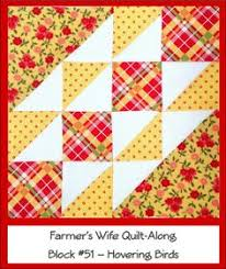 21- Contrary Wife by jmhard18, via Flickr | FWQ | Pinterest ... & Farmer's Wife Quilt Along Block #51 - Hovering Birds by  Ellie@CraftSewCreate, via Adamdwight.com