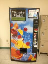 Minute Maid Vending Machine Delectable Wolfe On Twitter Why Have A Minute Maid Vending Machine When It's