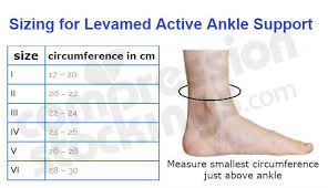 Active Ankle T2 Size Chart Best Picture Of Chart Anyimage Org