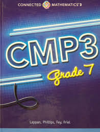 helping math connected mathematics project cmp3 grade 7 book cover