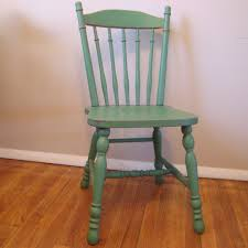 custom painted distressed wood farm chair vintage farmhouse painted wooden dining chairs