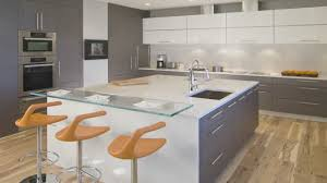 Kitchen Design - Large square island in this high-end condominium kitchen -  YouTube