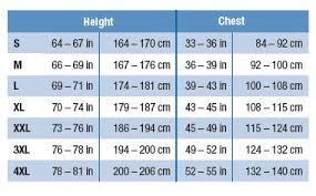 Cleat Cover Size Chart 3m Coverall Size Chart