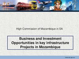 Resultado de imagem para mozambique investment