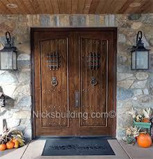 rustic double front door. Rustic Double Doors Sale Front Door