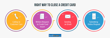 close or cancel a credit card