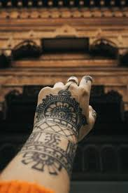 Fotka Ruka S Henna Tetování 183373452 Fotobanka Fotkyfoto