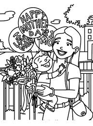 Small Picture Happy Mothers Day Coloring Pages for Kids family holidaynet