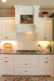 White Kitchen Tiles Subway Or Morrocan Tile Backsplash With White Cabinets Tile