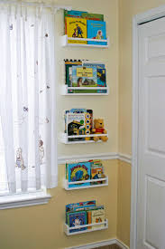 Kids Bedroom Shelving Bedroom Simple Shelving Unit Design For Kids Room Using White Wall