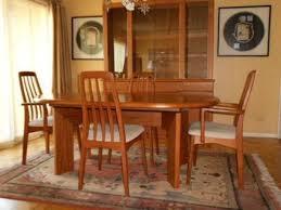 mid century modern dining room table and chairs 3000 teak dining room set skov danish mid