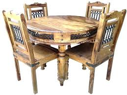 glass wood dining table with 4 chairs and dining table dining round table dining set