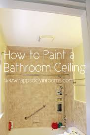 painting a bathroom ceiling w empowerment throughout paint design 13