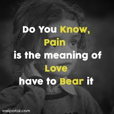 Do You Know Pain Is The Meaning Of English Love Poetry Facebook