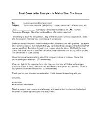 Cover Letter For Job Application Via Email Fresh Example Job ...