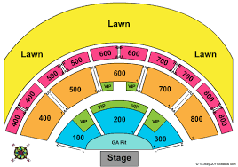 Comcast Theatre Formerly Meadows Music Theater Seating Chart